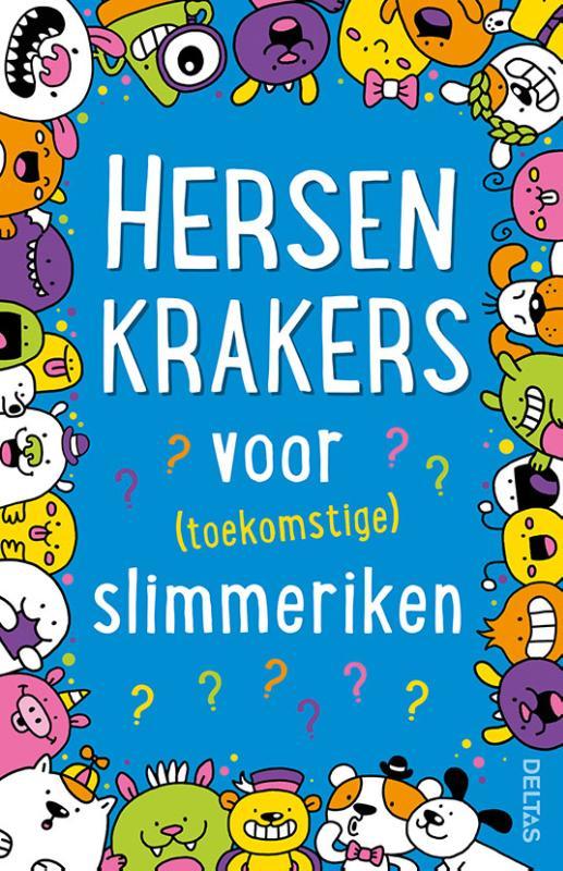 Cover Hersenkrakers voor (toekomstige) slimmeriken (7+)