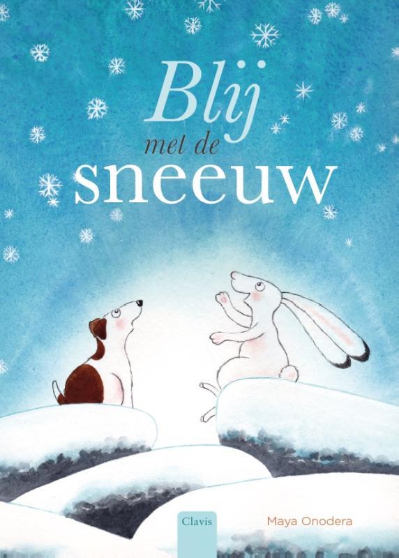 Cover Blij met de sneeuw
