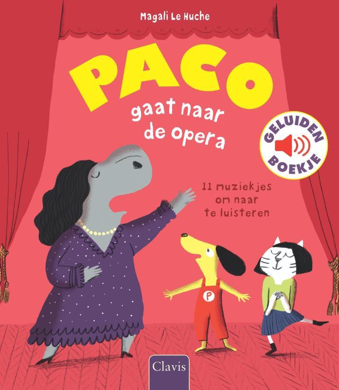 Cover Paco gaat naar de opera