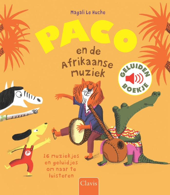 Cover Paco en de Afrikaanse muziek