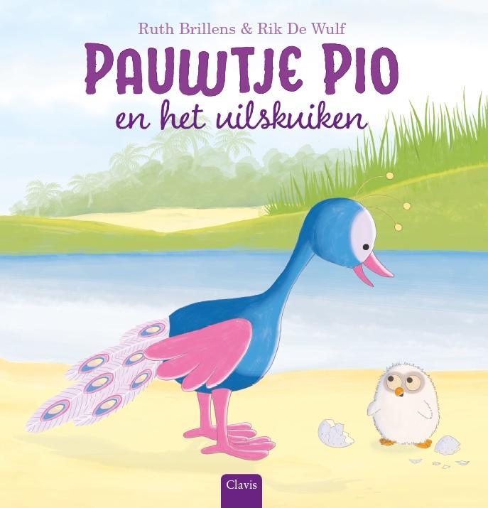Cover Pauwtje Pio en het uilskuiken