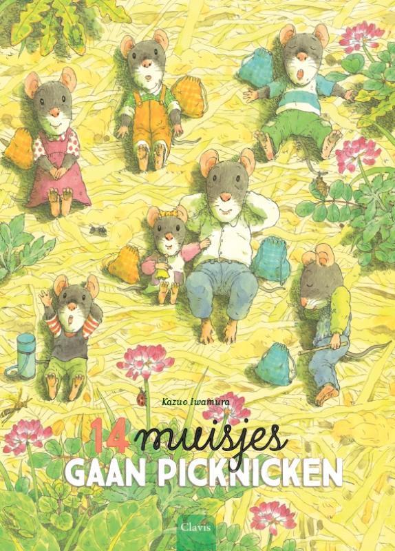 Cover 14 muisjes gaan picknicken