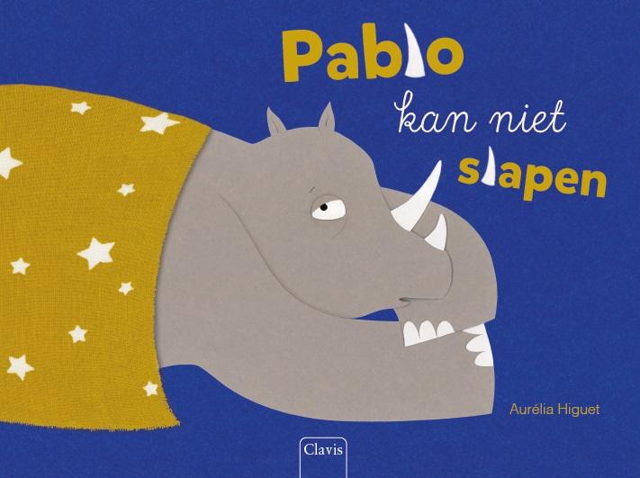 Cover Pablo kan niet slapen