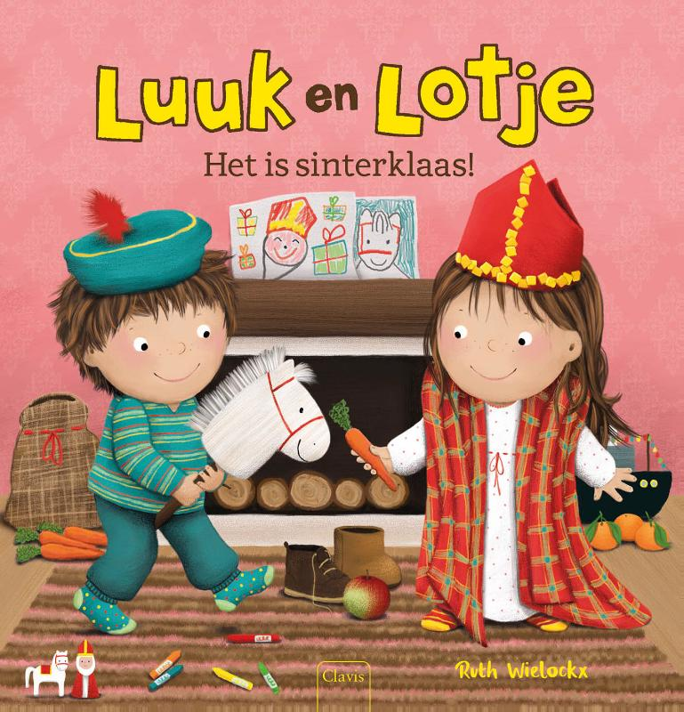 Cover Luuk en Lotje. Het is sinterklaas!