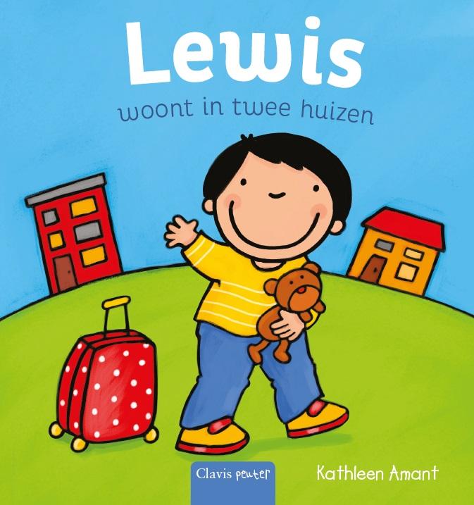 Cover Lewis woont in twee huizen