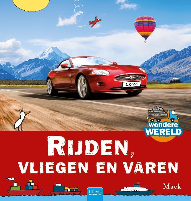 Cover Rijden, vliegen en varen