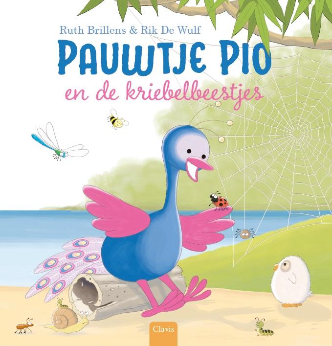 Cover Pauwtje Pio en de kriebelbeestjes