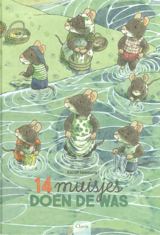 Cover 14 muisjes doen de was