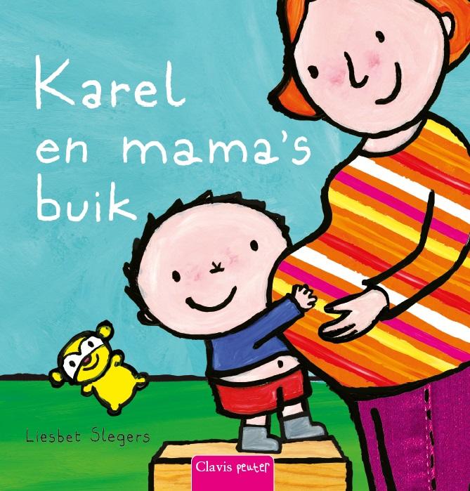 Cover Karel en mama's buik