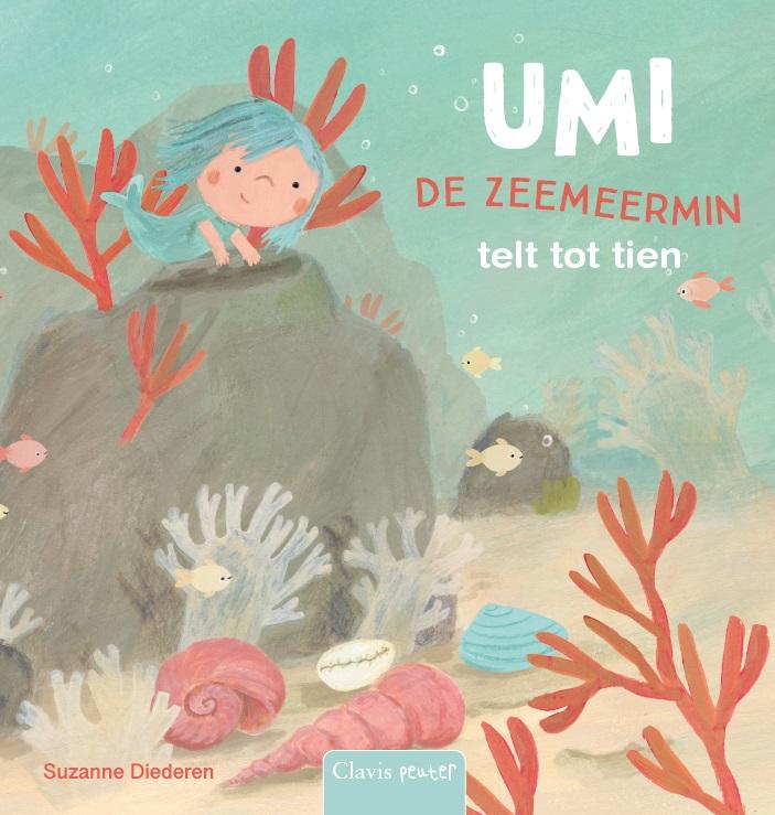 Cover Umi de zeemeermin telt tot tien
