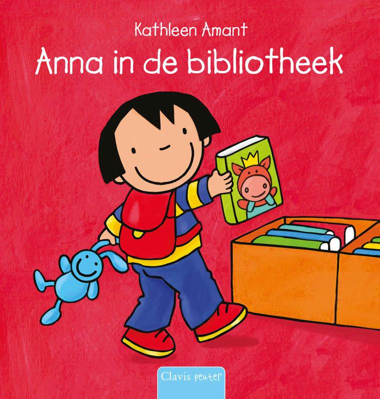 Cover Anna in de bibliotheek