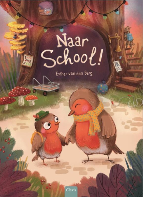 Cover Naar school!