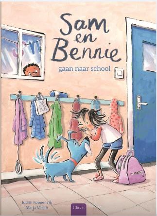 Cover Sam en Bennie gaan naar school