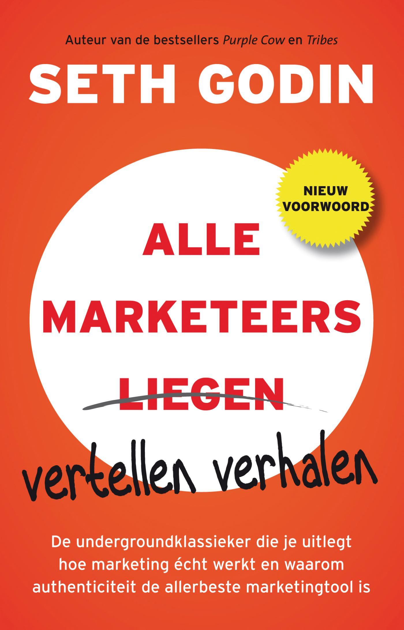 Cover Alle marketeers vertellen verhalen