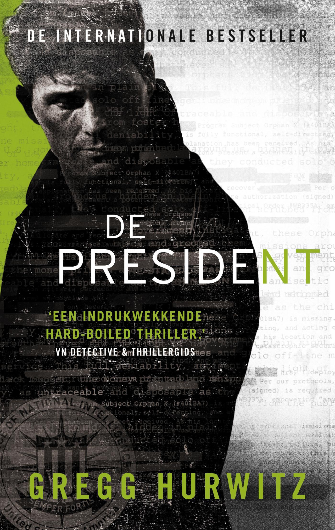 Cover De president