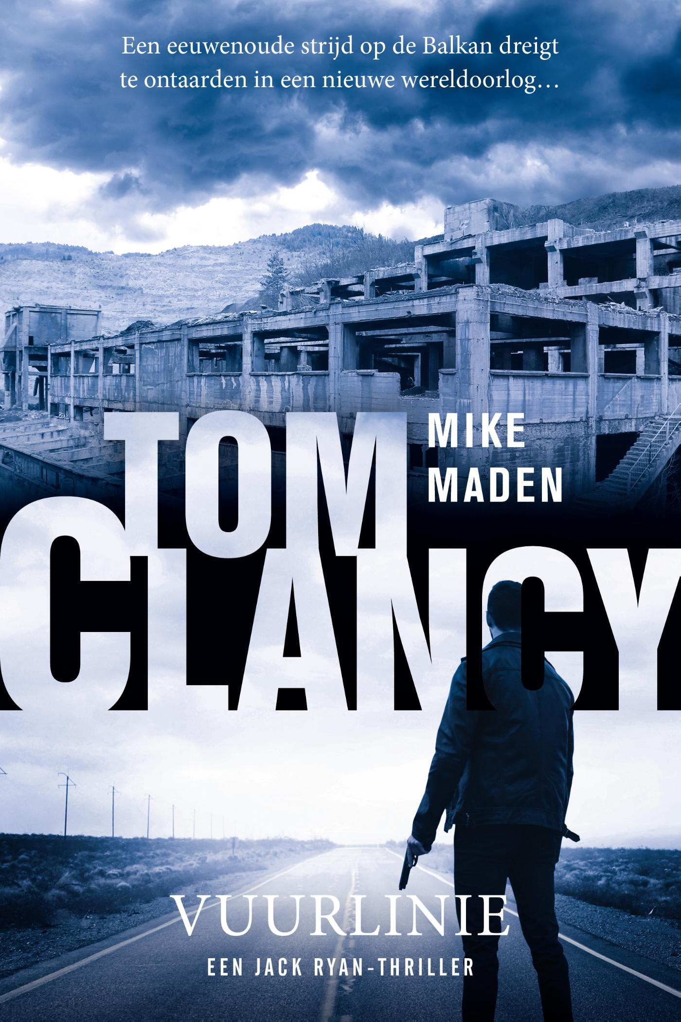 Cover Tom Clancy Vuurlinie