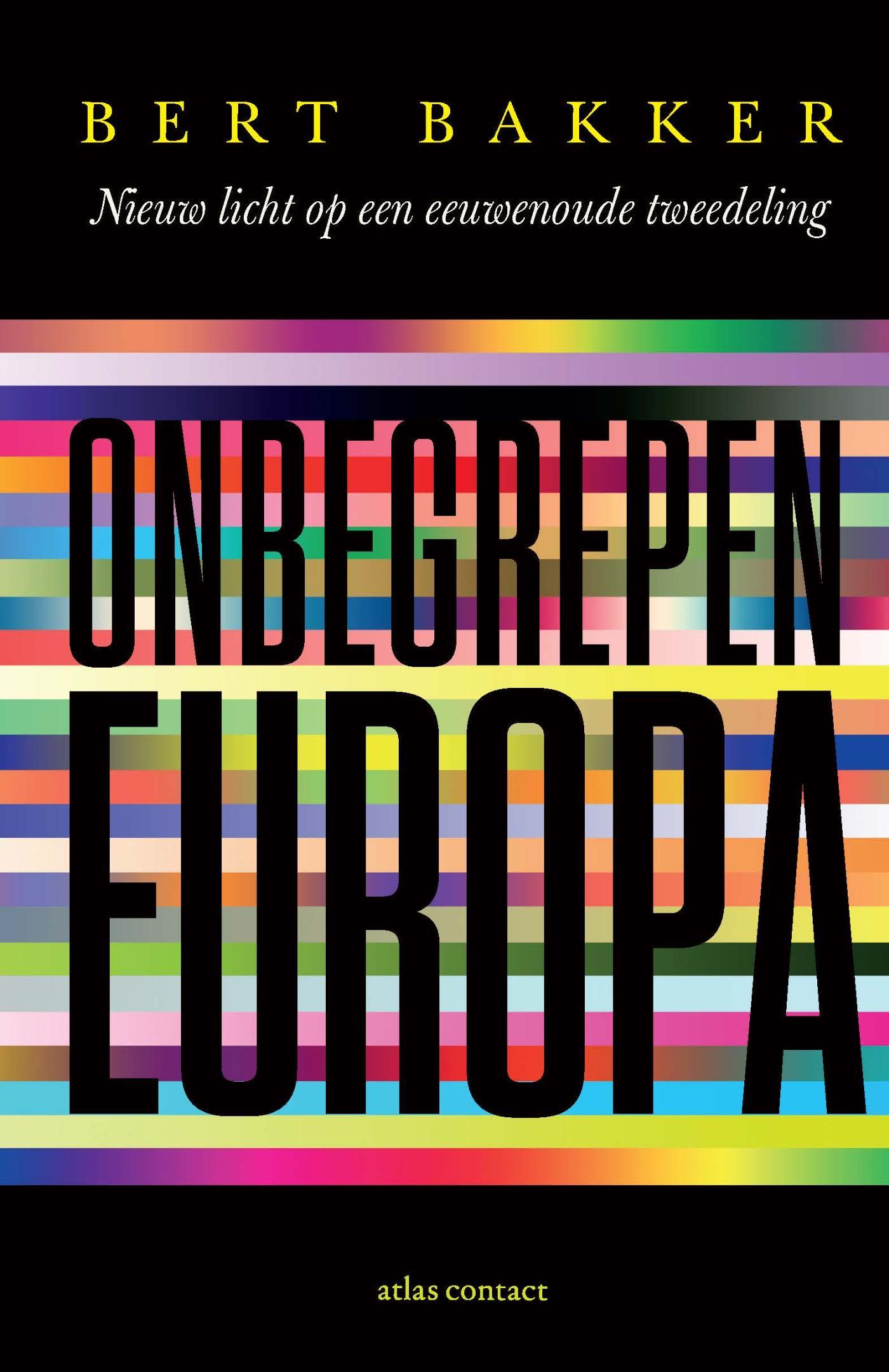 Cover Onbegrepen Europa
