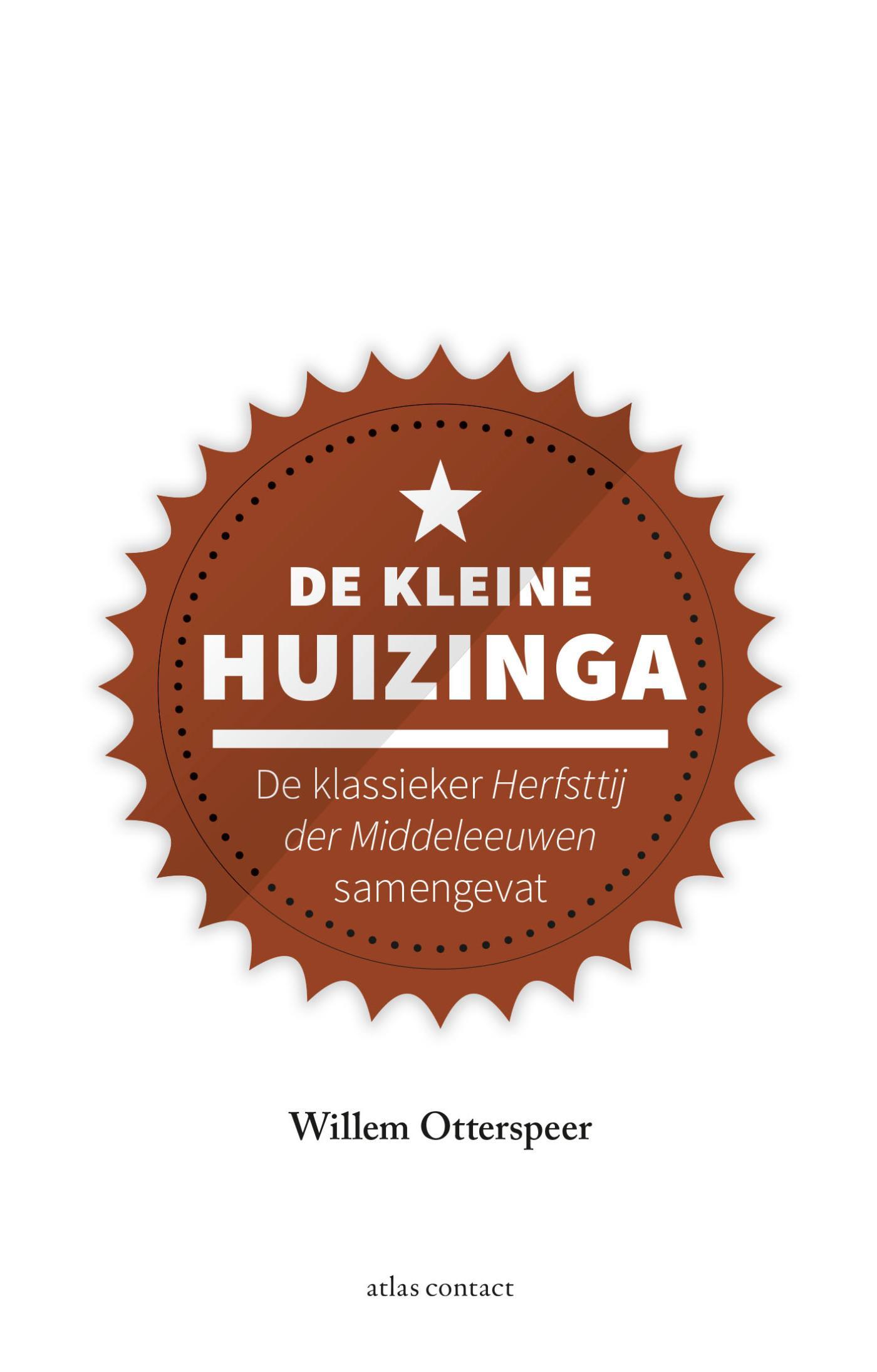 Cover De kleine Huizinga