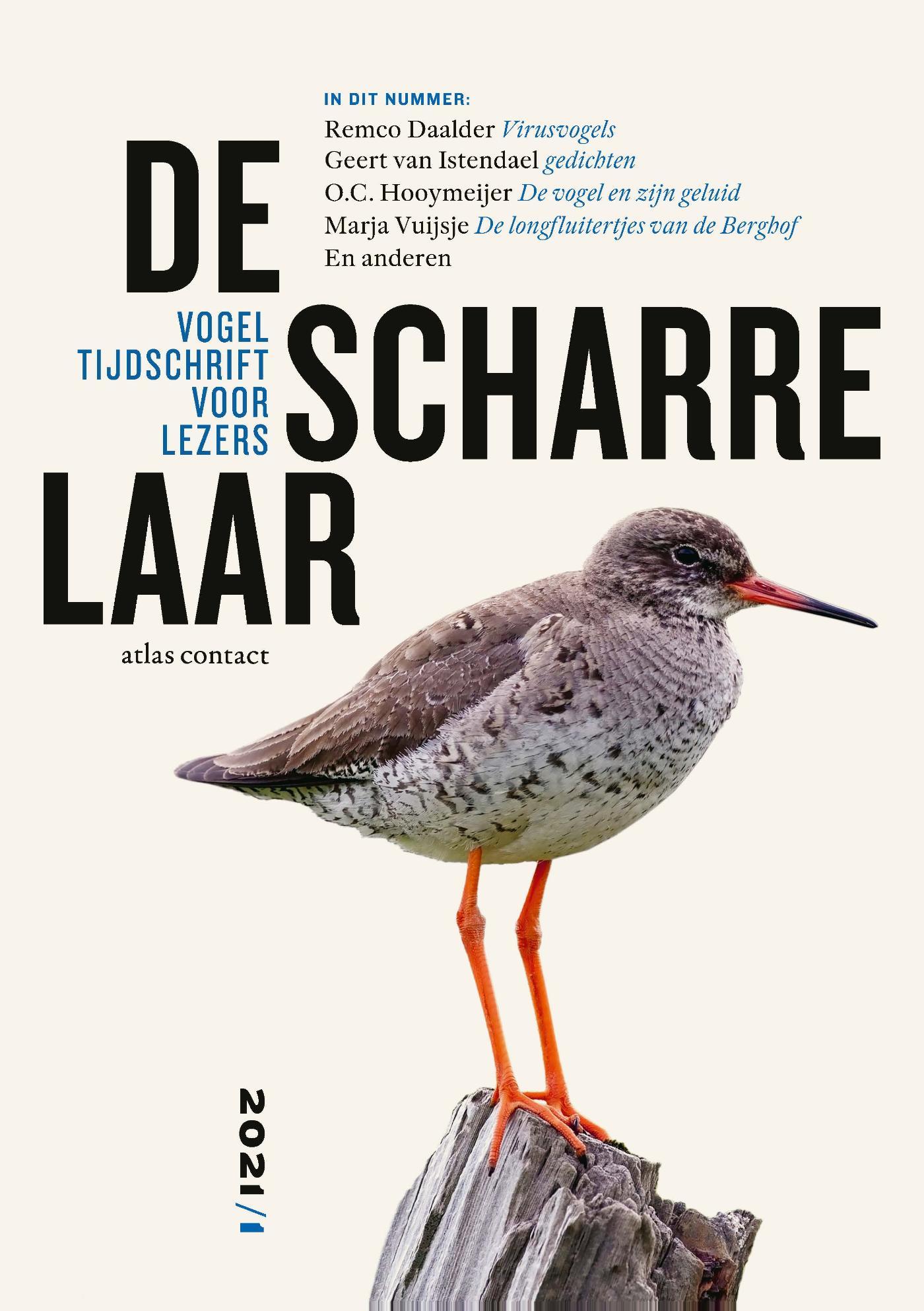 Cover De scharrelaar - 2021/1