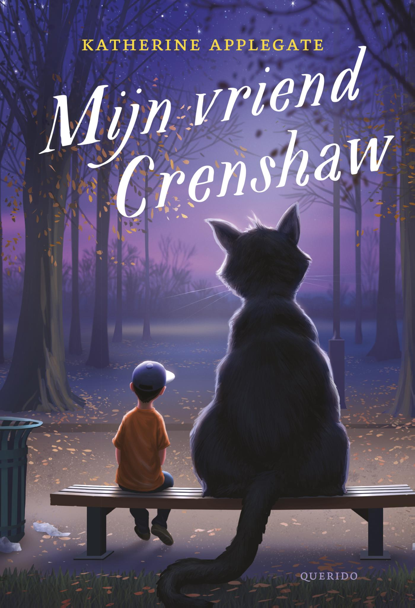 Cover Mijn vriend Crenshaw