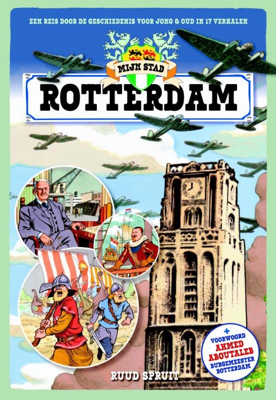 Cover Mijn stad, Rotterdam