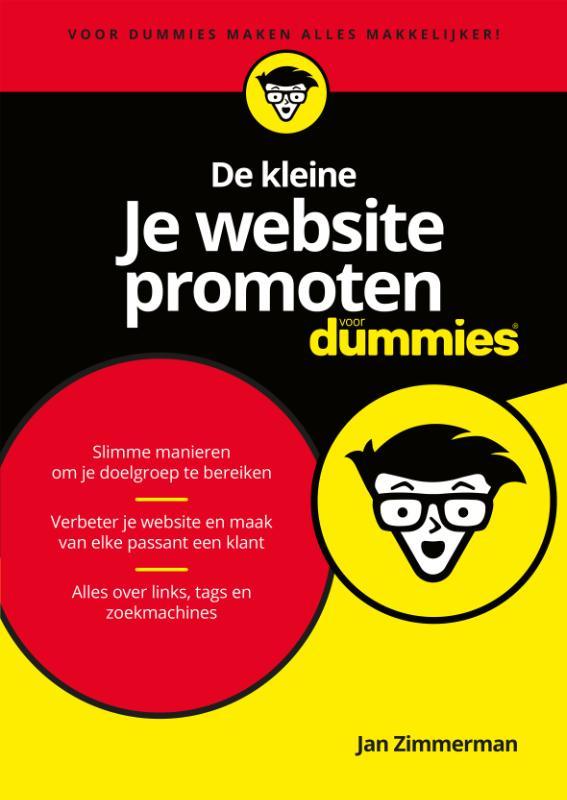Cover De kleine je website promoten voor Dummies
