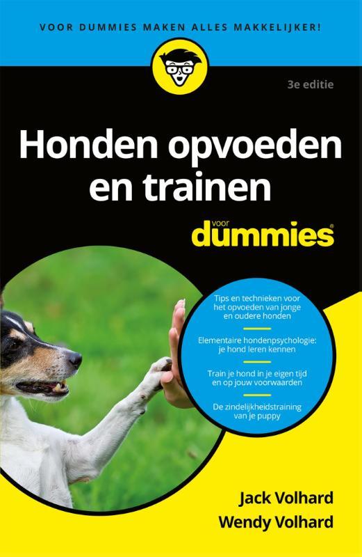 Cover Honden opvoeden en trainen voor dummies