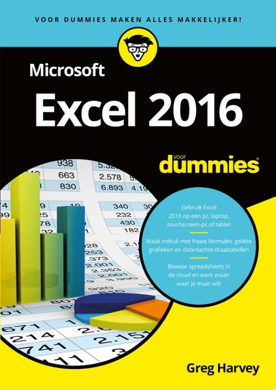 Cover Microsoft Excel 2016 voor Dummies