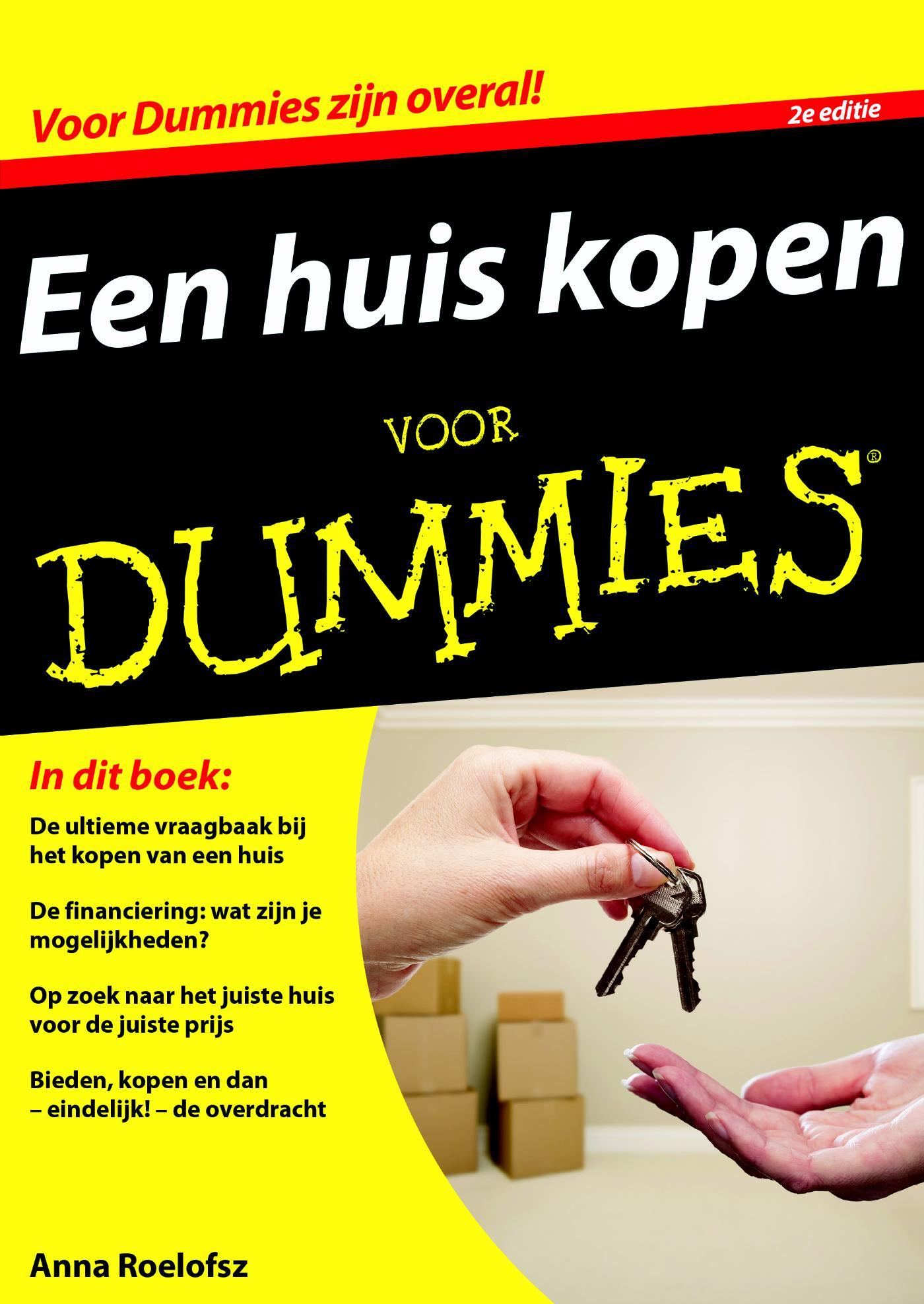 Cover Een huis kopen voor Dummies