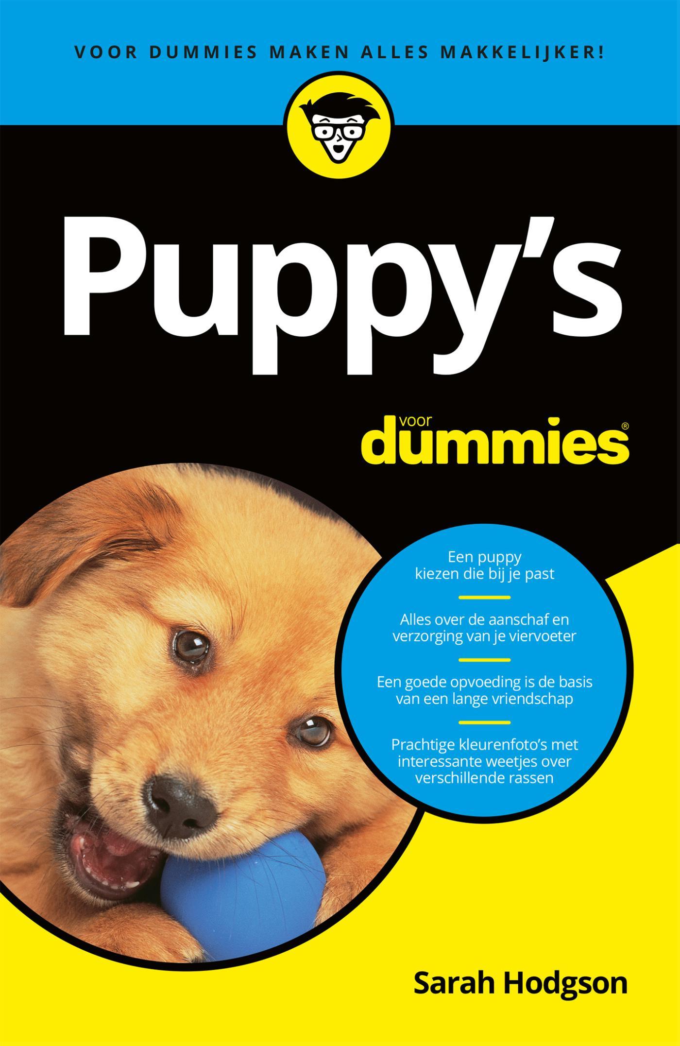 Cover Puppy's voor Dummies