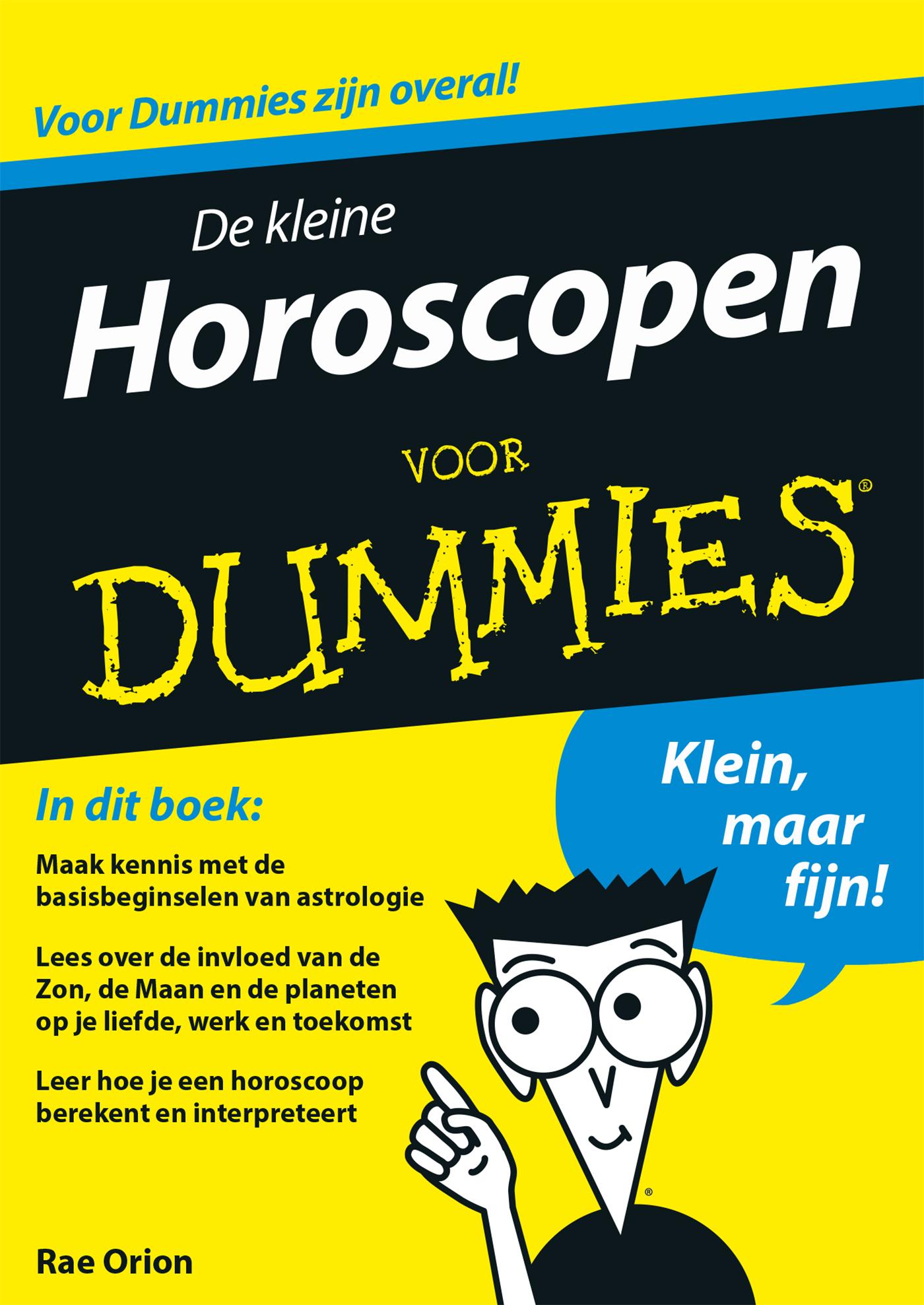 Cover De kleine horoscopen voor dummies