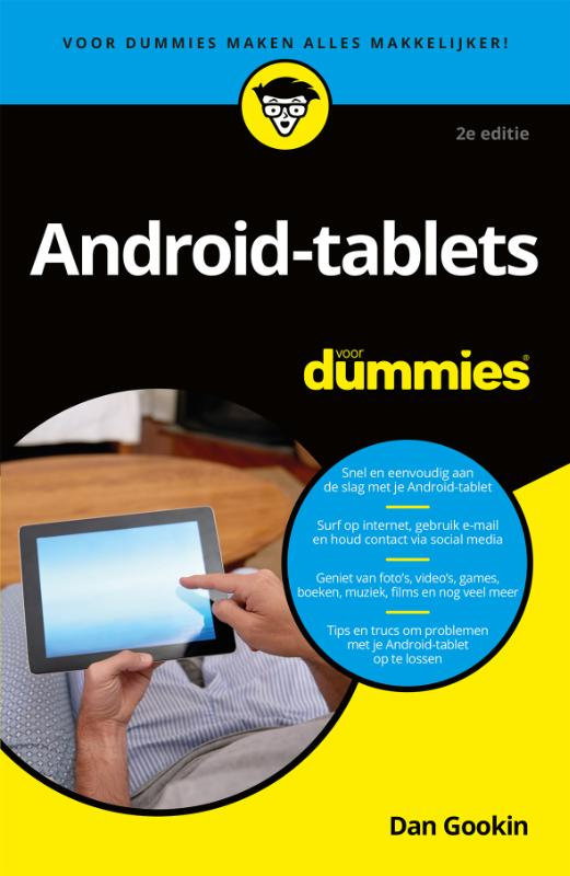 Cover Android-tablets voor Dummie