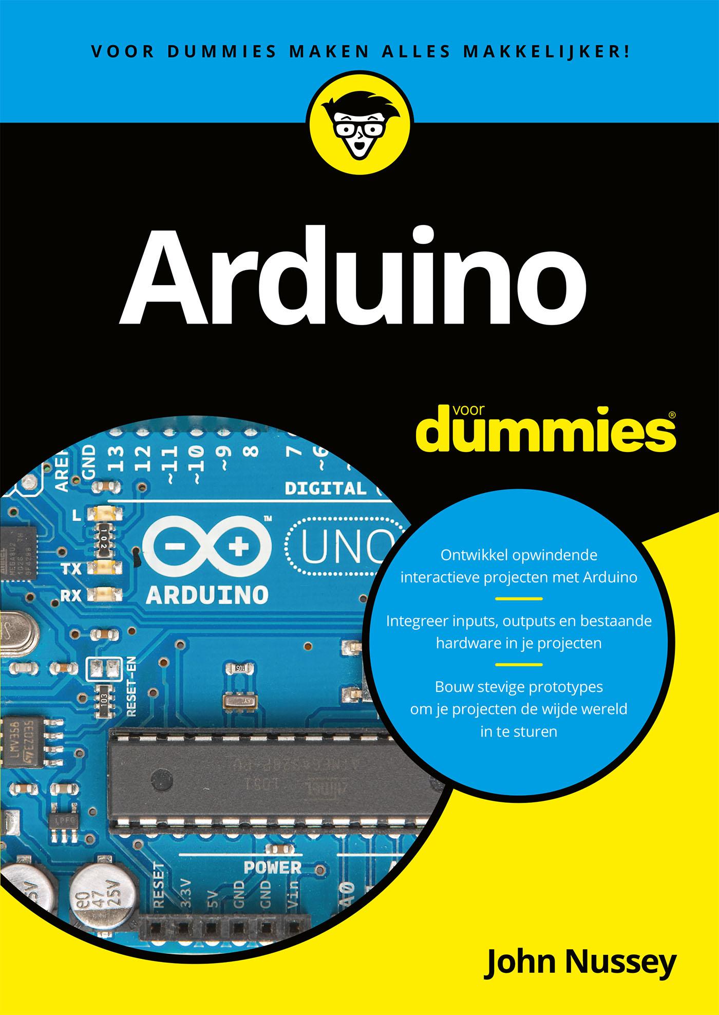 Cover Arduino voor dummies
