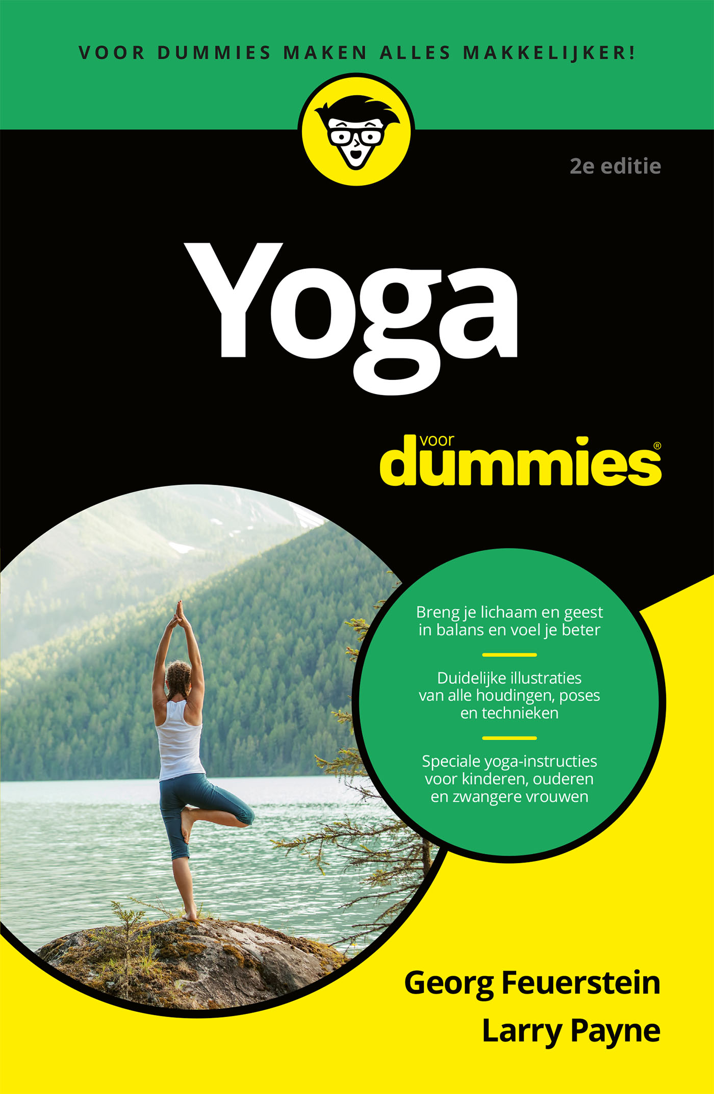Cover Yoga voor Dummies