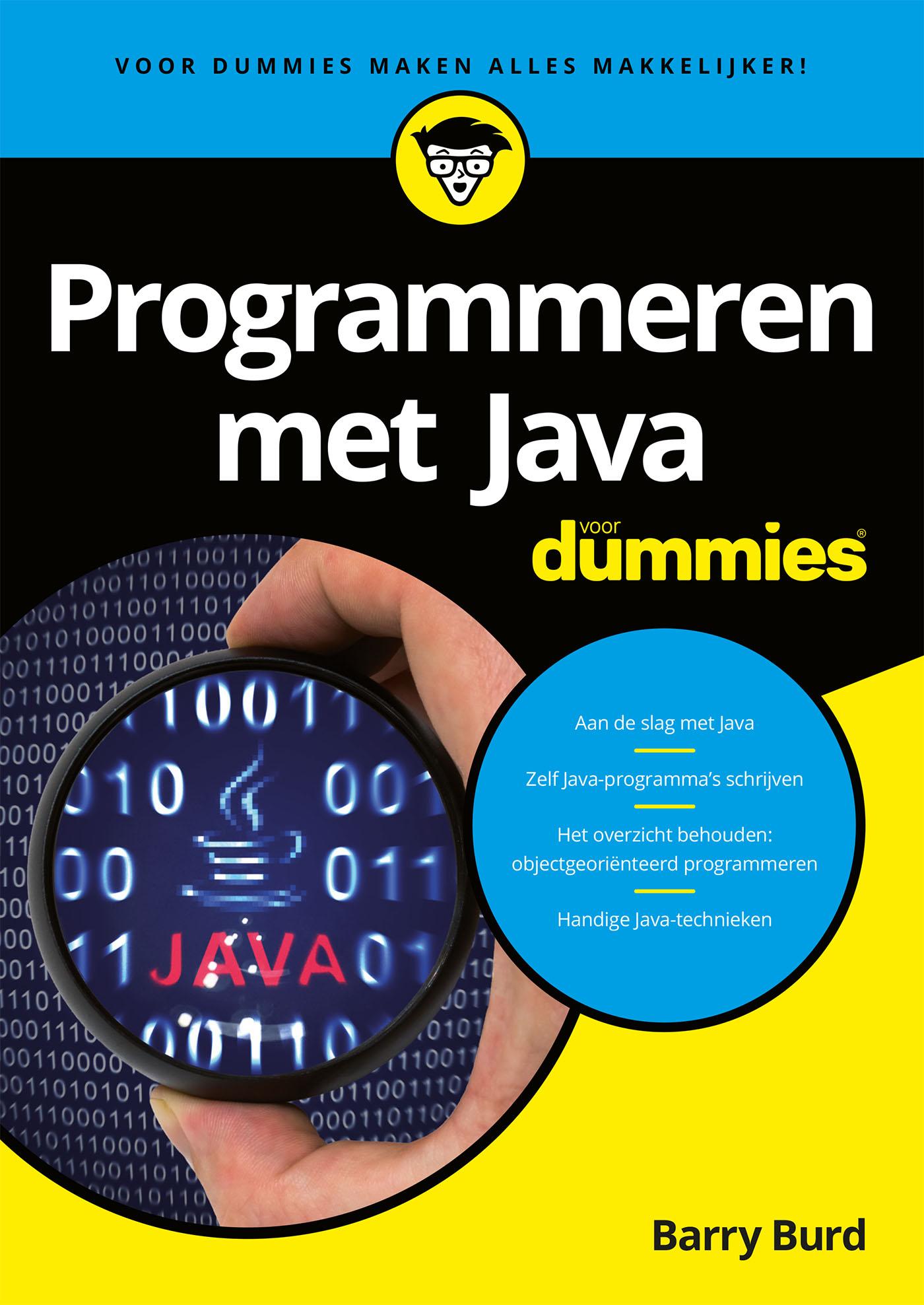 Cover Programmeren met Java voor Dummies