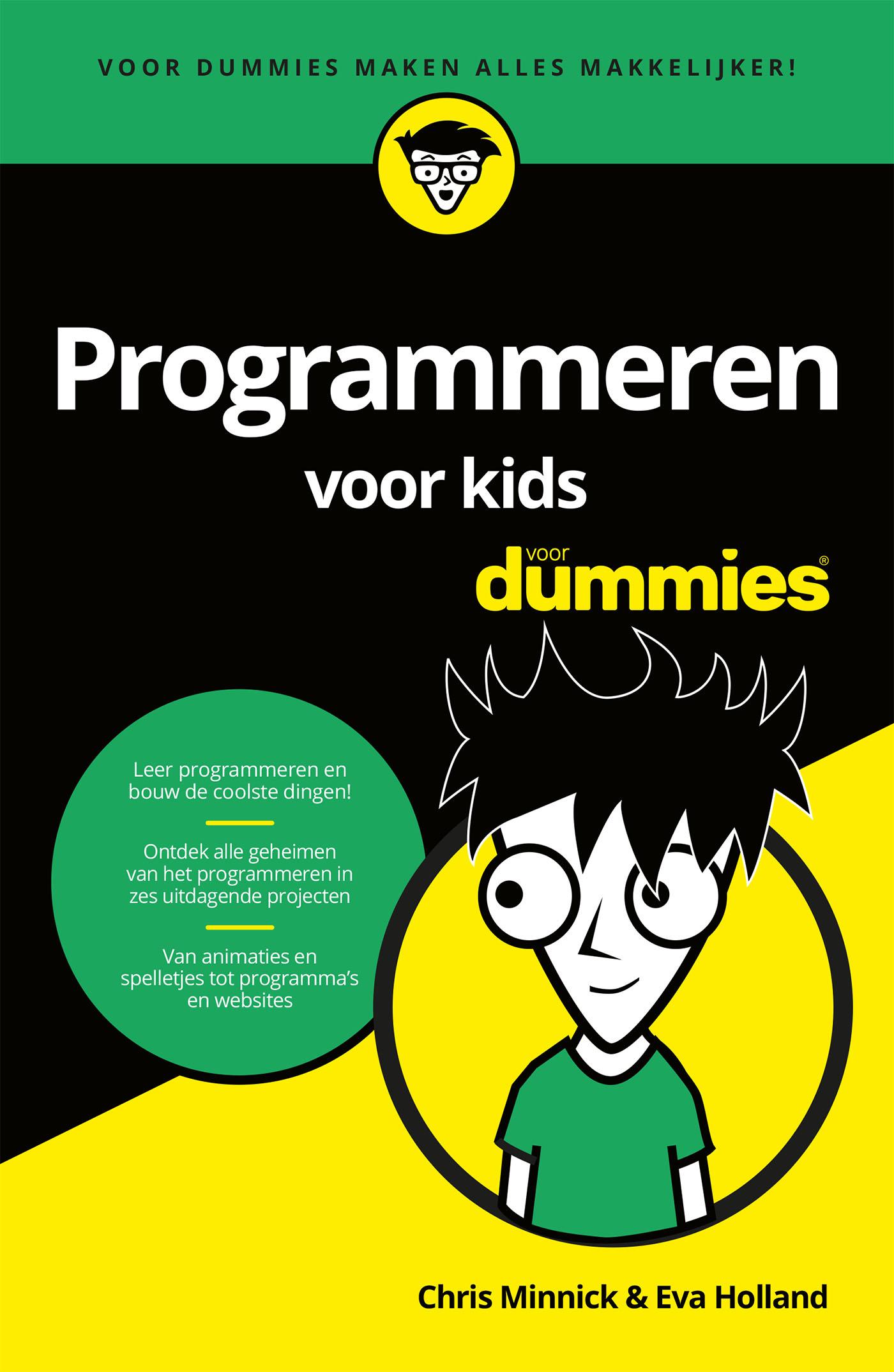 Cover Programmeren voor kids voor Dummies