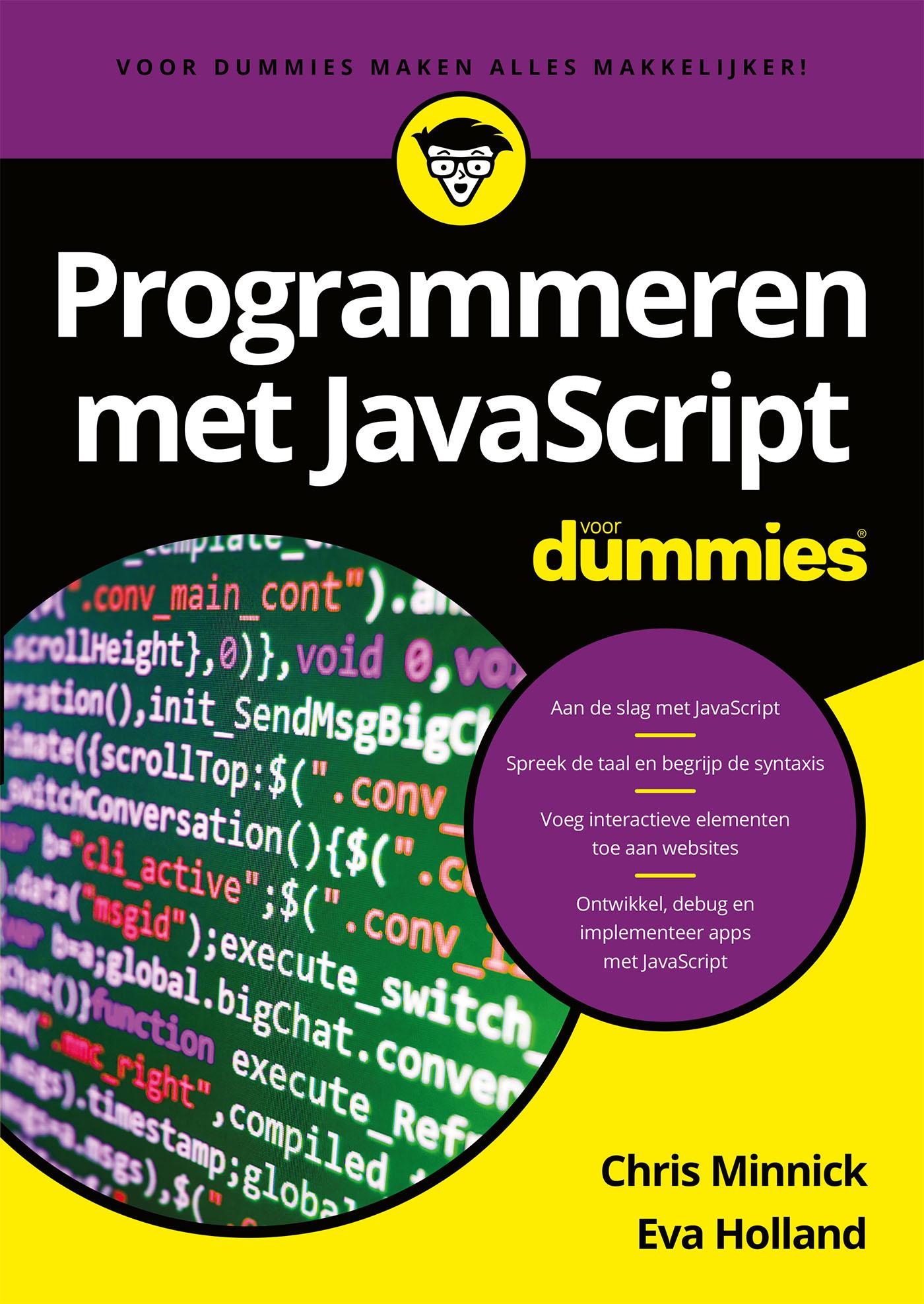 Cover Programmeren met JavaScript voor Dummies