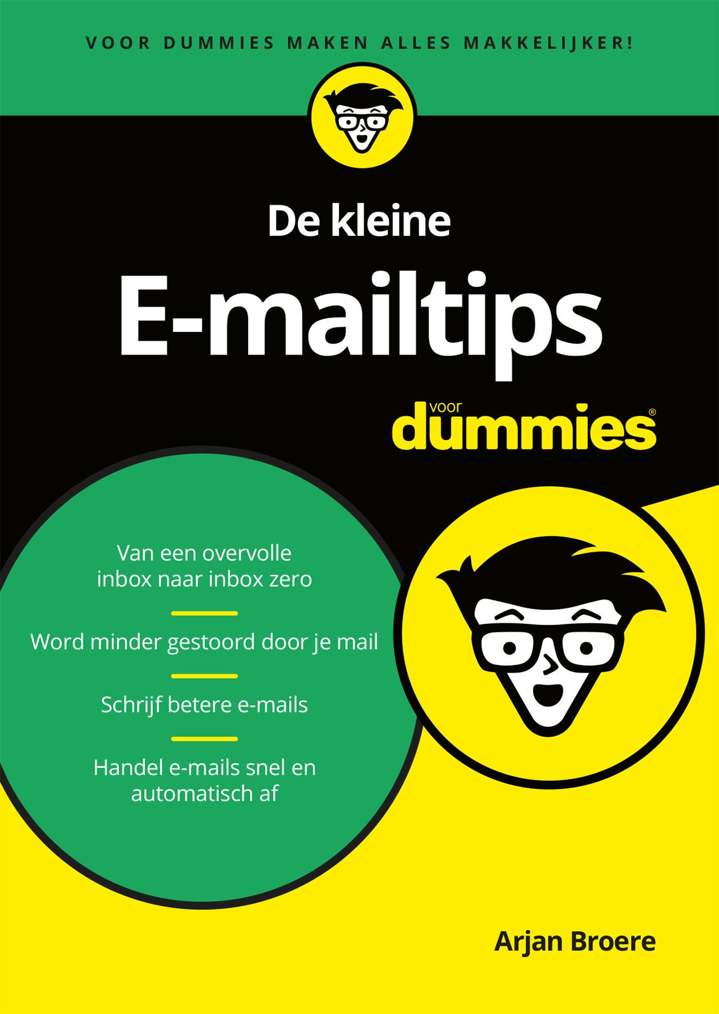 Cover De kleine E-mailtips voor Dummies