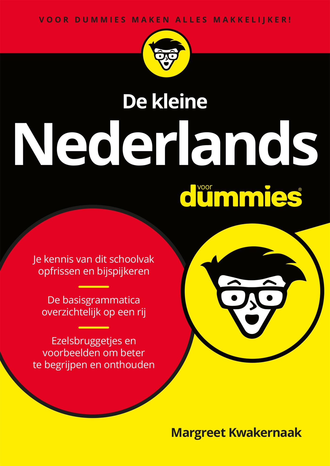 Cover De kleine Nederlands voor Dummies