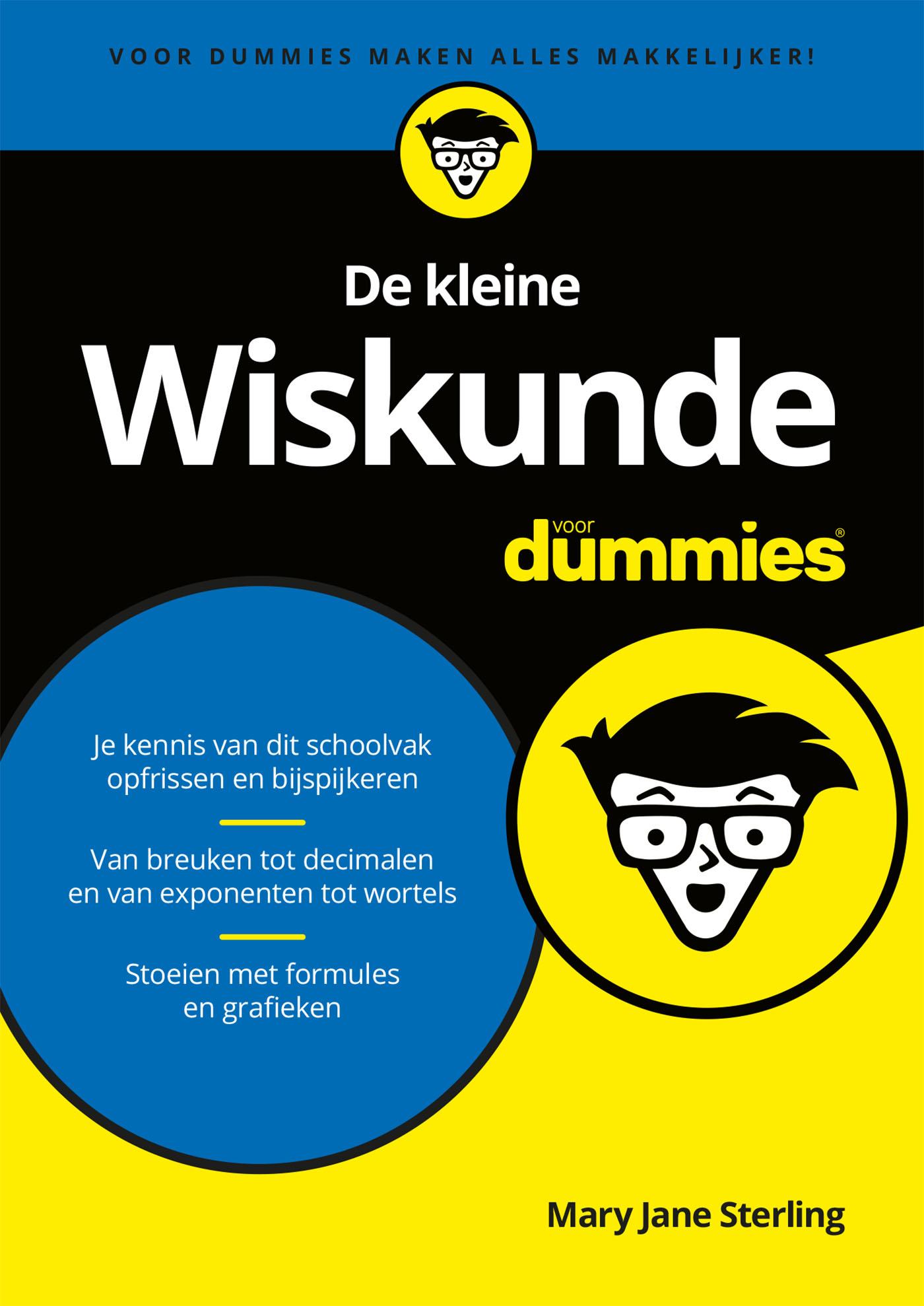 Cover De kleine Wiskunde voor Dummies