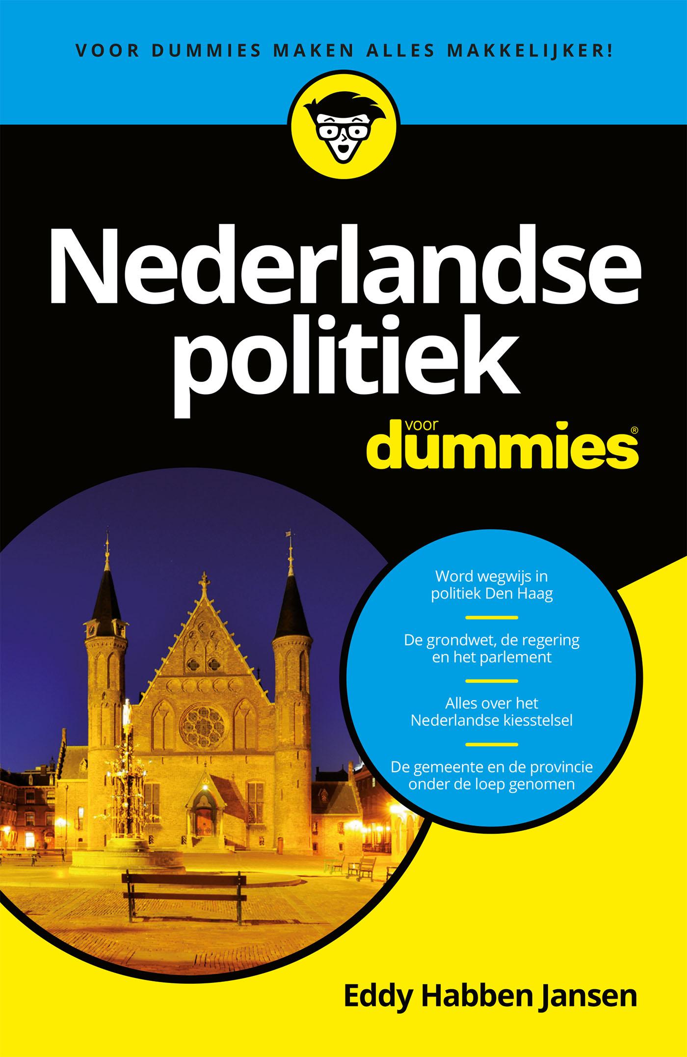 Cover Nederlandse politiek voor dummies