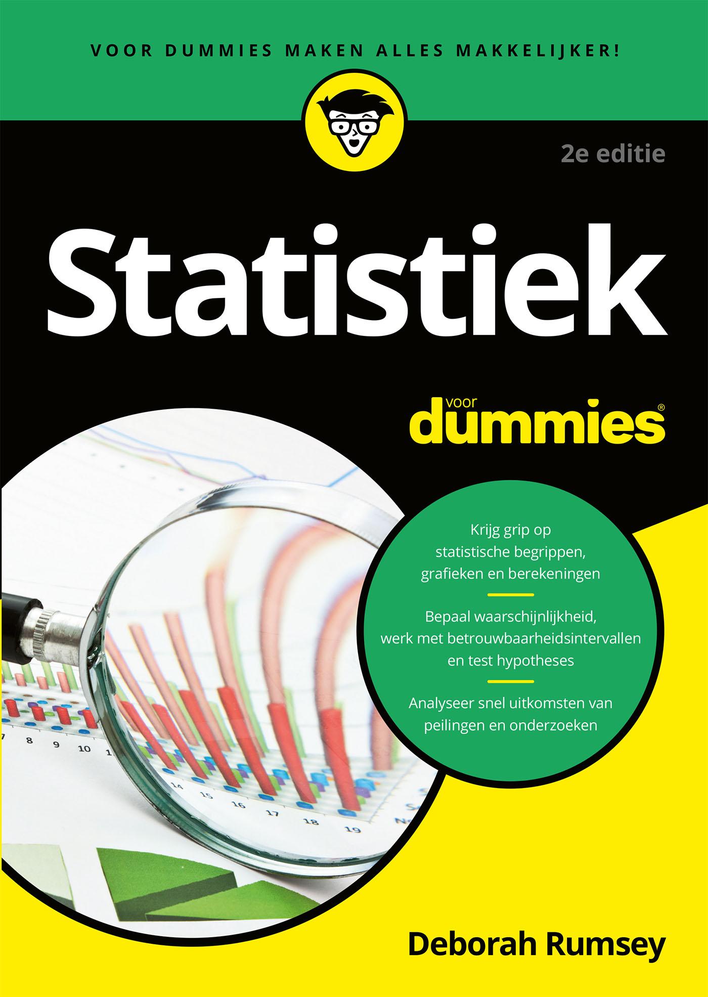Cover Statistiek voor Dummies