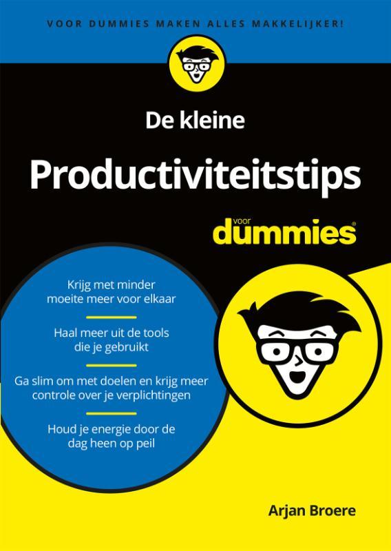 Cover De kleine Productiviteitstips voor Dummies