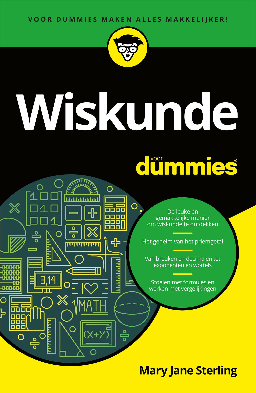 Cover Wiskunde voor Dummies