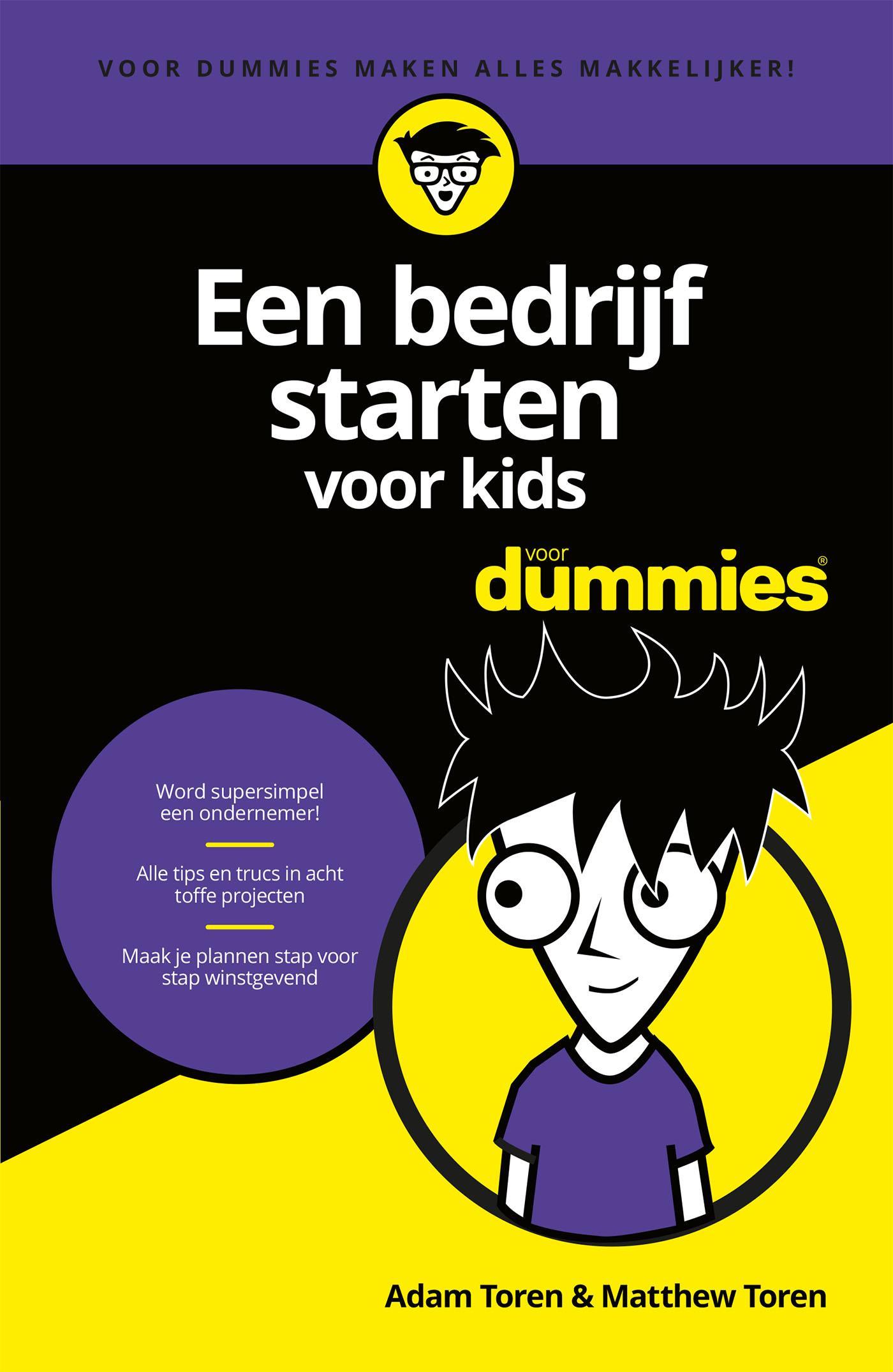 Cover Een bedrijf starten voor kids voor Dummies