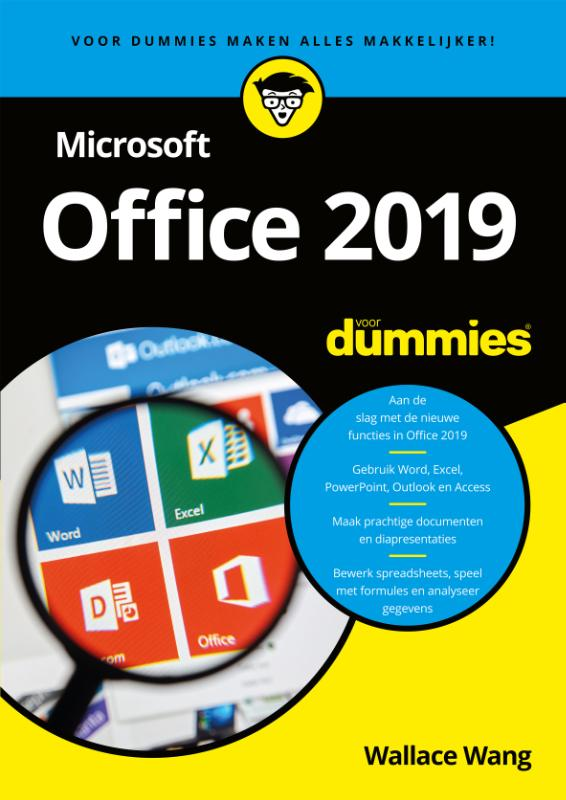 Cover Microsoft Office 2019 voor Dummies