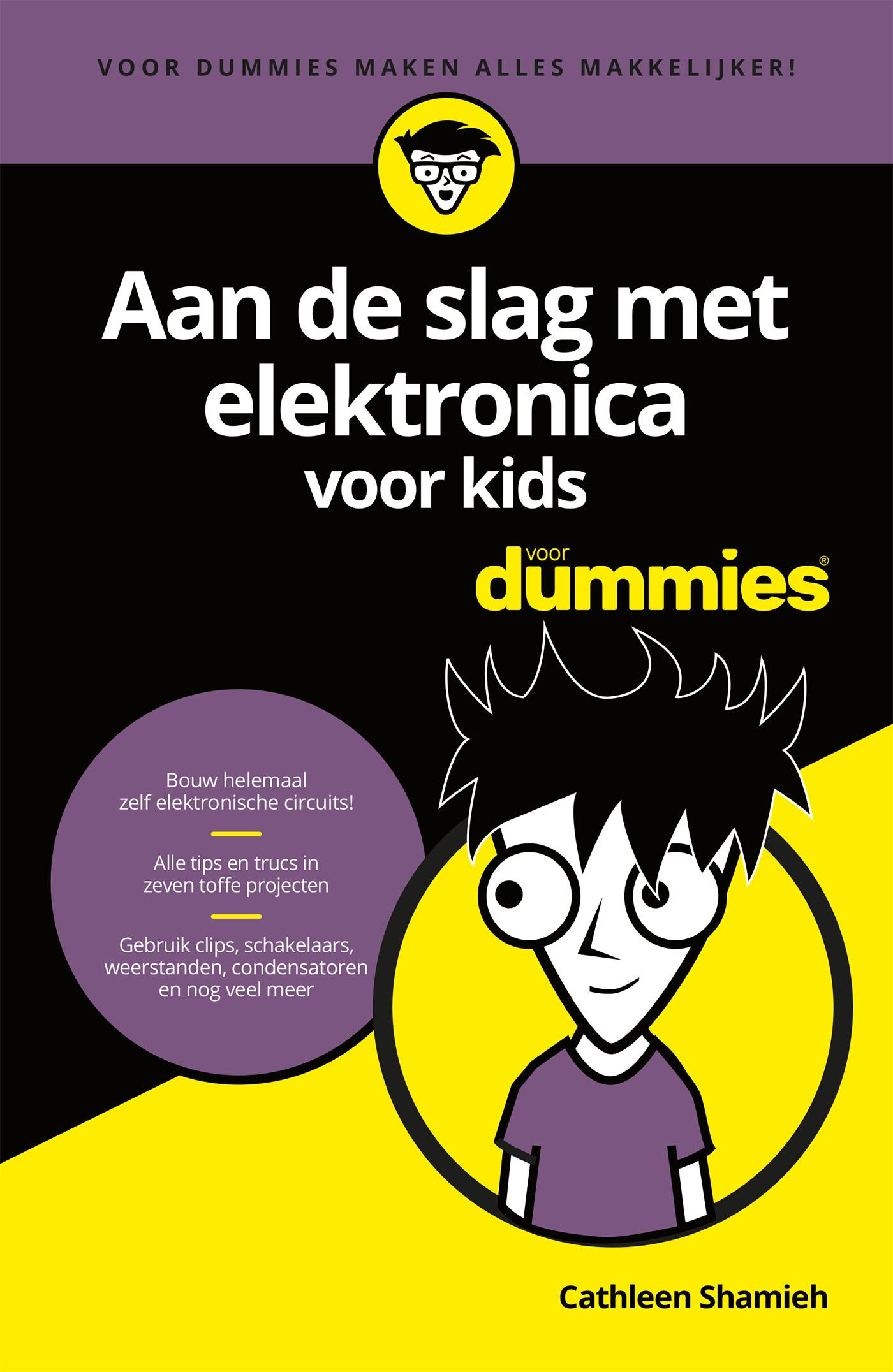 Cover Aan de slag met elektronica voor kids voor Dummies