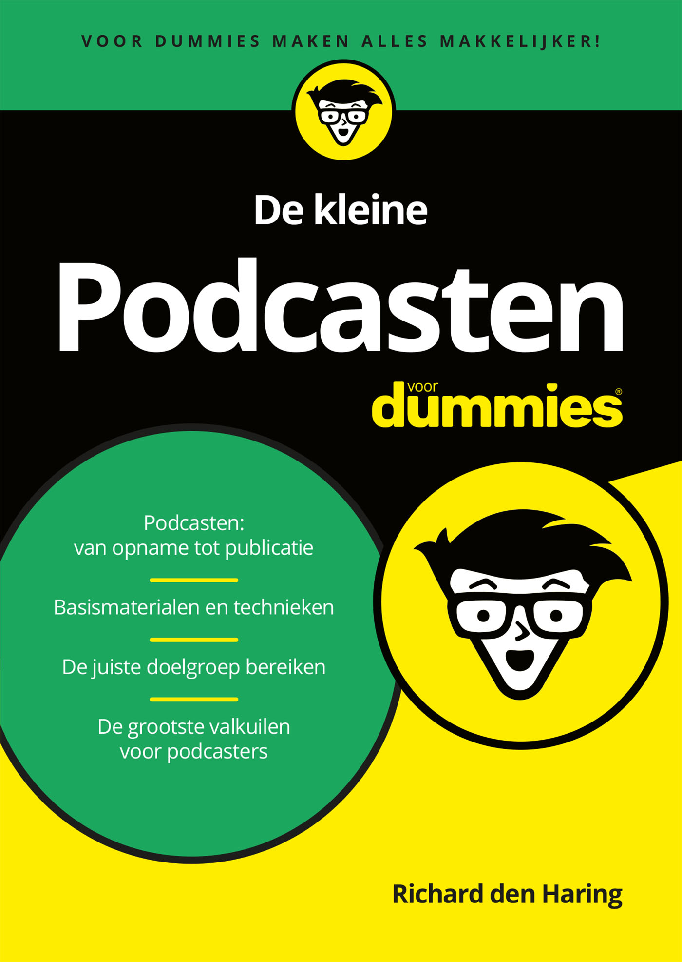 Cover De kleine Podcasten voor Dummies