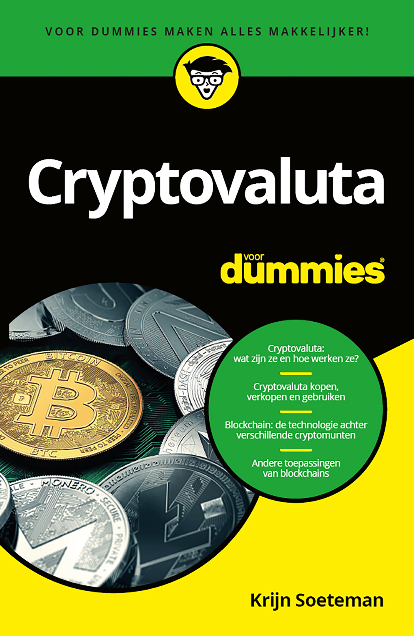Cover Cryptovaluta voor Dummies