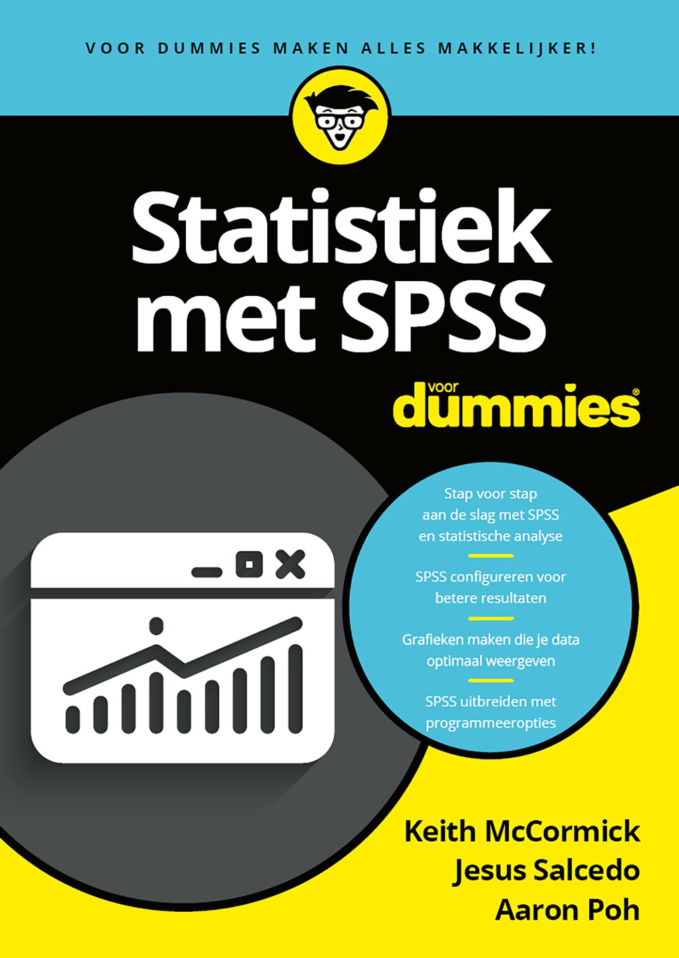 Cover Statistiek met SPSS voor Dummies